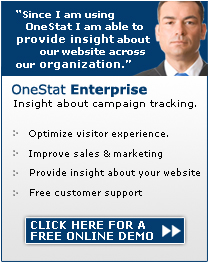 Click here to start your OneStat Enterprise demo.