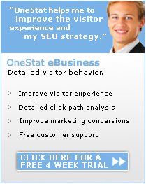 Click here to start your OneStat eBusiness trial.